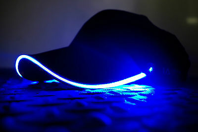LED Light Up Baseball Cap Hat - Party - Rave - Festival - Illuminated Apparel