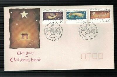 1994 Christmas on Christmas Island FDC