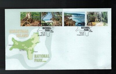 2014 Christmas Island National Parks FDC