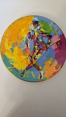 Vtg. Royal Doulton Harlequin Collectible Plate by Leroy Neiman   NIB     INV1238