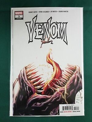 Venom #3 Marvel 2018 1st Appearance Of Knull God Of Symbiotes! Donny Cates HOT!