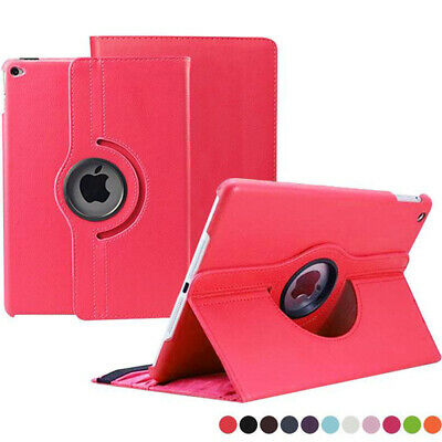 New 360 Leather Magnet Flip Stand Case Cover Fit For Apple iPad 6th Gen 2018Case
