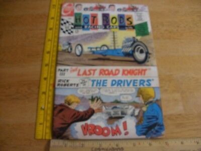 Hot Rods and Racing Cars 86 dragster comic 1960s VG Silver Age