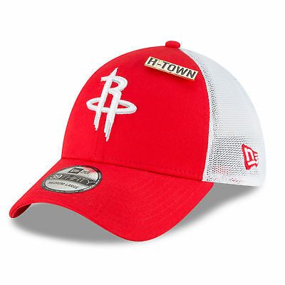 Houston Rockets New Era Official Draft 39THIRTY Fitted Cap Hat 2018 Mens 417f2598c356