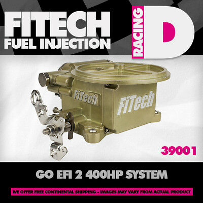 FiTech 39001 Go EFI 2 Barrel 400HP Fuel Injection System
