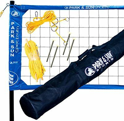 Park & Sun Sports Spectrum 2000 Portable Professional Outdoor Volleyball Net ...