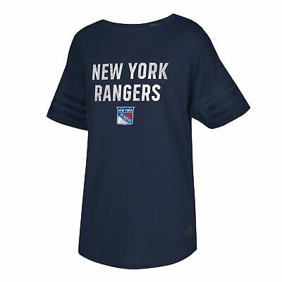 New York Rangers adidas Big City Block T Shirt Womens