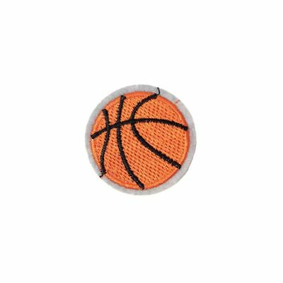 Basketball (Iron On) Embroidery Applique Patch Sew Iron Badge