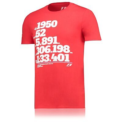 Formula 1 2017 British Grand Prix Numbers T Shirt Red Mens Fanatics