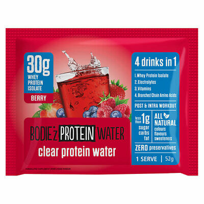 Bodiez Clear Protein Powder Berry Sachet 30g