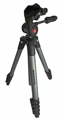 Manfrotto Compact Advanced Tripod with 3-Way Head Black MKCOMPACTADV-BK #2
