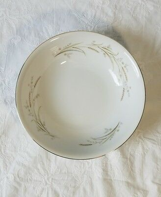 "Golden Harvest Wheat Pattern Fine China Japan 9"" Round vegetable Serving  Bowl 64eab88fe"
