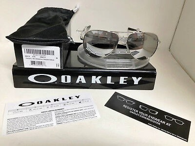 edf68c5cc2 Oakley ELMONT SUNGLASSES L POLISHED CHROME   CHROME IRIDIUM OO4119-0860