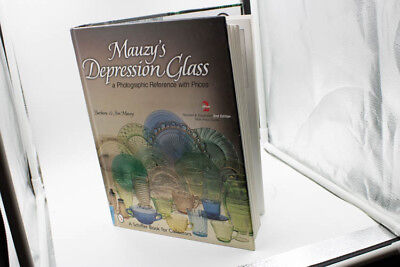 Mauzy's Depression Glass - A Photographic Reference Book 2Nd Edition By Mauzy