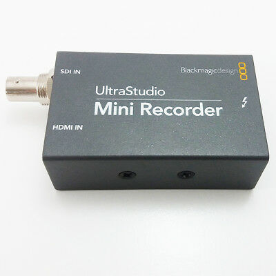 OPEN BOX Blackmagic Design UltraStudio Mini Recorder Thunderbolt BDLKULSDZMINREC
