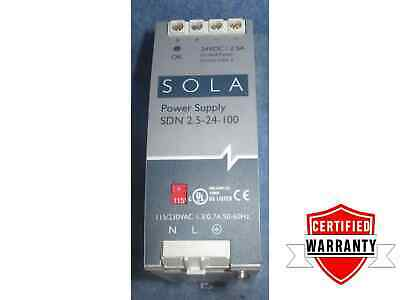 Sola SDN 2.5-24-100 RED 24VDC 2.5A Power Supply 1 Year Warranty