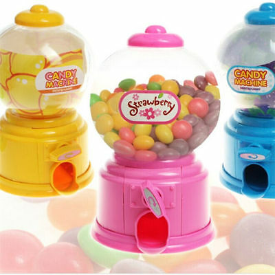 Enfants Candy Machine Piggy Gumball Saving coins boîte bonbons mini Jelly Bean