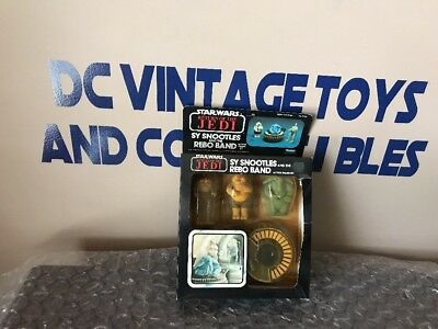 Vintage Kenner 1983 Star Wars Return of the Jedi sy snootles rebo band ROTJ —MIB