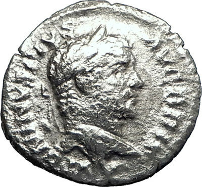 CARACALLA 213AD Rome Authentic Ancient Silver Roman Coin i70507