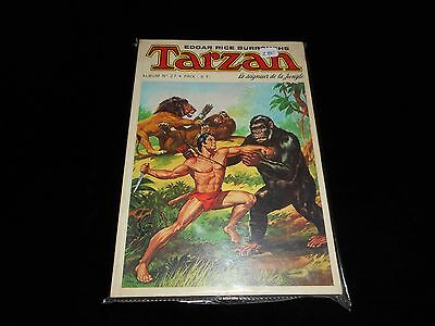 Tarzan Album 27 contient Tarzan 39, 40, 41, 42 grand format sagédition 1975