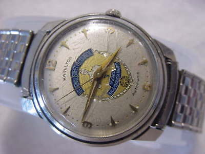 Vintage large antique Art Deco HAMILTON AUTOMATIC mens watch