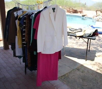 DESIGNER WOMEN'S WHOLESALE 55+ 18 NWT S,M & L Items all listed OVER $6,000 MSRP!