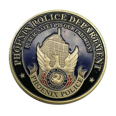 Police Station of the Phoenix City Collection Commemorative Coin AU