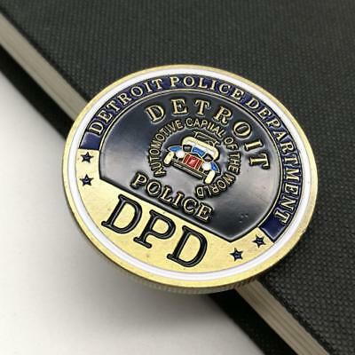 DPD Police Station 2 Collect Commemorative Coin Metal Craft Party Decorations AU