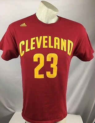best loved 595c8 cf9bd LEBRON JAMES CLEVELAND Cavaliers #23 adidas Name and Number ...