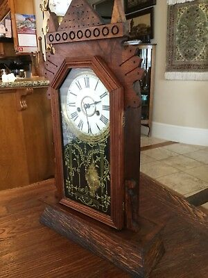 Antique Ansonia Kitchen Or Mantle Or Shelf Clock