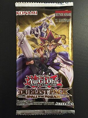 YUGIOH!! Duelist Pack: Rivals Of The Pharaoh Booster! DPRP! NEU&OVP! Deutsch!