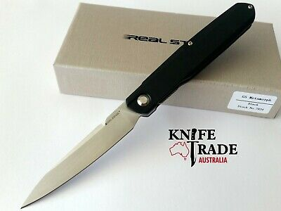 Real Steel G5 Metamorph Gentleman 7831 FoldingPocket Knife Front Flipper 14C28N