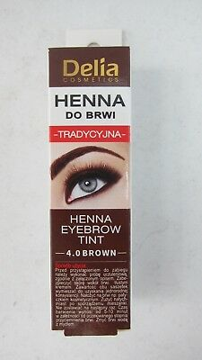 Delia Henna Traditional Eyebrow Eyelashes Tint Powder Kit Set Us