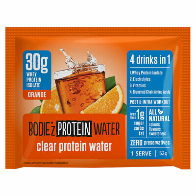 Bodiez Clear Protein Powder Orange Sachet 30g