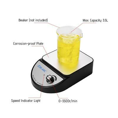 Lab Magnetic Stirrer Mixer Stir Bar 3500 rpm 3500ml Stainless Steel Plate O6N8