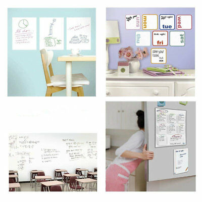 White Board Sticker Self-Adhesive Wall Sticker Contact Paper for School/Office