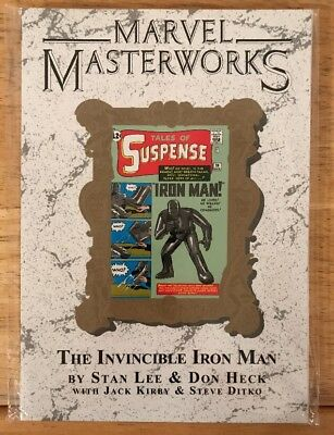 MARVEL MASTERWORKS: THE INVINCIBLE IRON MAN VOL.1 Paperback *New*