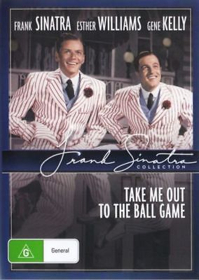 Take Me Out To The Ball Game Dvd New And Sealed Australia All Regions