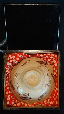Vintage Natsuchawan 1900s hand made Tea Ceremony cup Japan Yakimono ceramic art