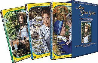 Anne of Green Gables The Trilogy Collection 3 disc set brand new Region 4