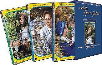 Anne of Green Gables The Trilogy Collection DVD 3 disc Boxset brand new Region 4