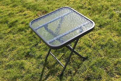 ANCIENNE TABLE DE Jardin Metal Perforee 1940/50 - EUR 95,00 ...
