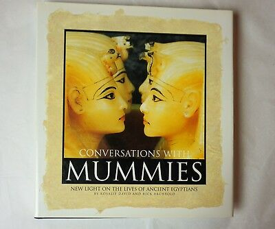 Conversations With Mummies:New Light on the Lives of Ancient Egyptians 2000 HCDJ