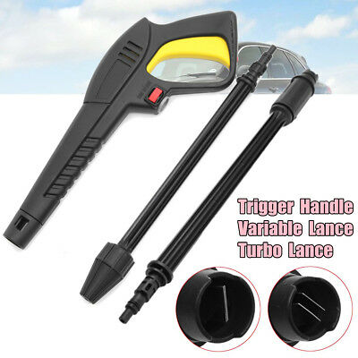 Quick Connect Trigger Gun / Turbo / Variable Lance For LAVOR VAX Pressure Washer