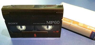 Hi 8 Video-Kassette SONY MP60