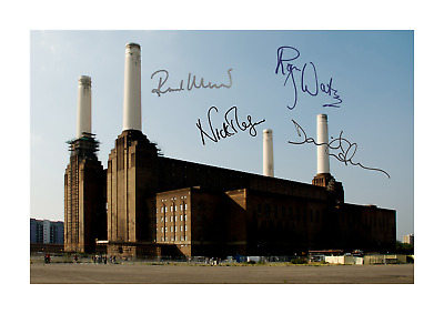 Pink Floyd Animals (3) A4 signed photograph picture poster. Choice of frame.