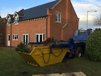 8 Yard Skip Hire Waste Removal Demolition Skip Hire Leicestershire Notts