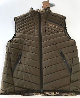 677e32cf HARKILA LYNX INSULATED Waistcoat Reversible--Sample/display - £129.00 |  PicClick UK