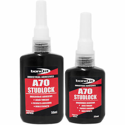 A70 Studlock Thread Lock Loctite Anaerobic Adhesive High Strength Thread Glue