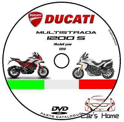 MANUALE OFFICINA CATALOGO PARTI DUCATI MULTISTRADA 1200 S my 2010 ABS MANUAL